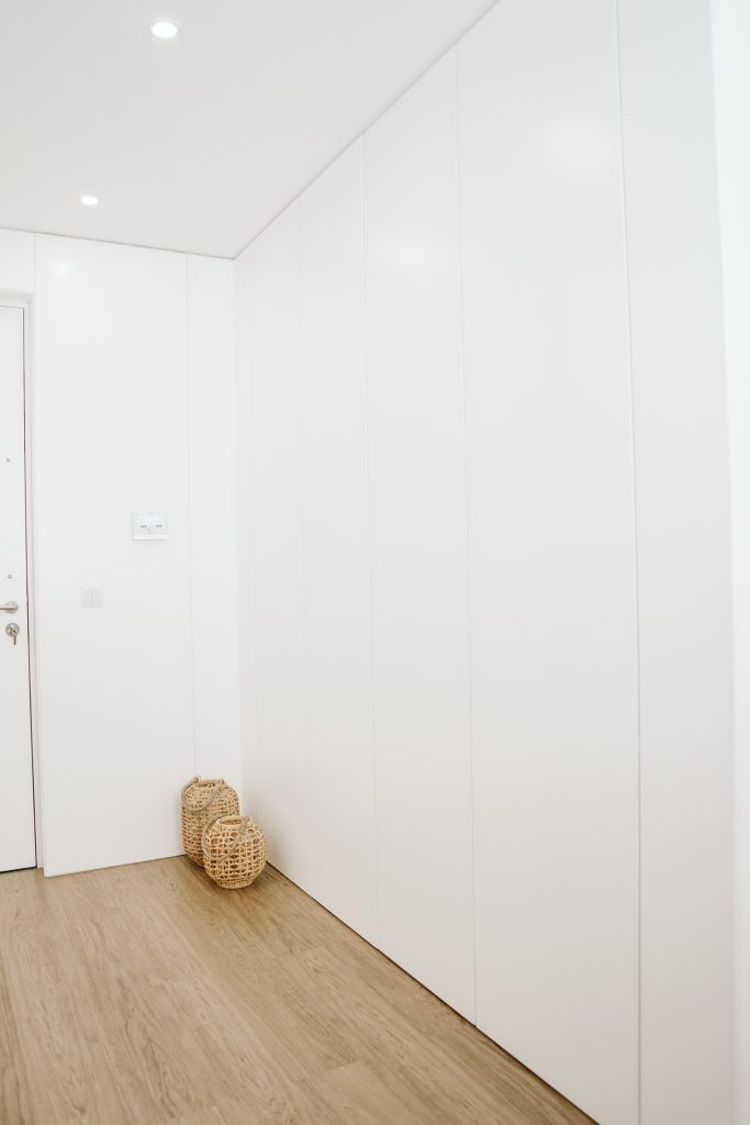 Forma de parede com armários