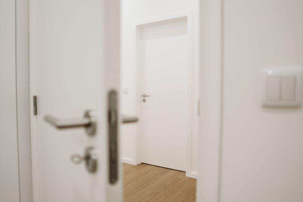 Portas lacadas